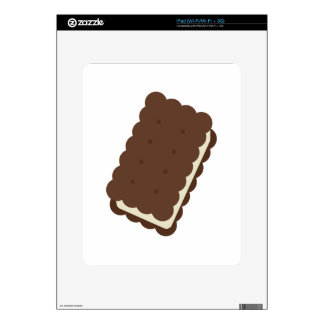 Ice Cream Sandwich Decals For The iPad