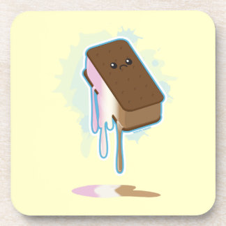 Ice Cream Sandwich Drink Coaster