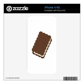 Ice Cream Sandwich iPhone 4S Decals