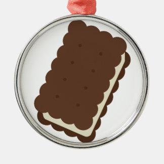 Ice Cream Sandwich Metal Ornament