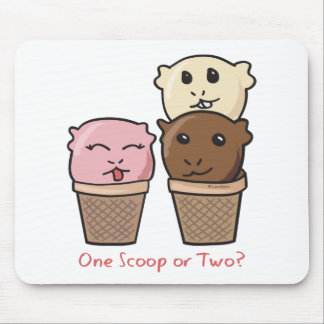 Ice Cream Scoops Mouse Pad