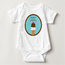 Ice Cream Shop Baby T-Shirt