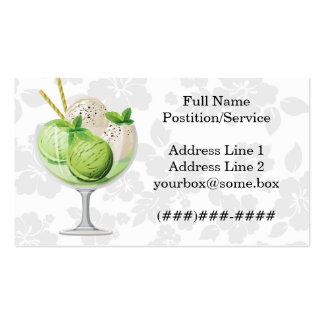 Ice Cream Shop Business Card