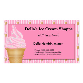 Ice Cream Shop  Business Cards