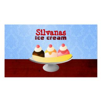 Ice Cream Shop Business Cards