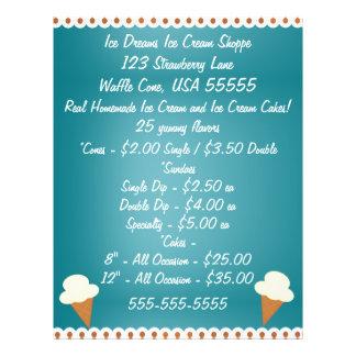 Ice Cream Shop Business Flyer