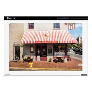 "Ice Cream Shop Downtown Savannah 17"" Laptop Decal"