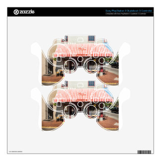 Ice Cream Shop Downtown Savannah Decal For PS3 Controller