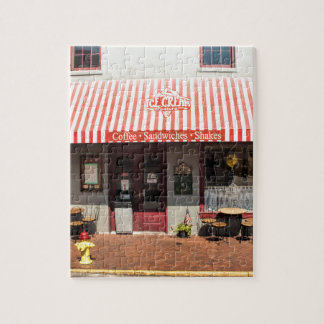 Ice Cream Shop Downtown Savannah Jigsaw Puzzle