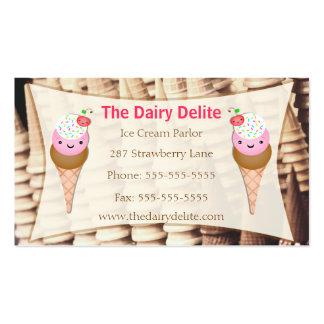 Ice Cream Shop / Parlour Business Card