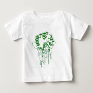 Ice Cream Skeleton Baby T-Shirt
