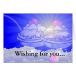 Ice Cream Skyline Greeting Card
