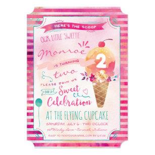 Ice cream birthday invitations zazzle ice cream social birthday party invitations filmwisefo