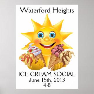Ice Cream Social - SRF Poster
