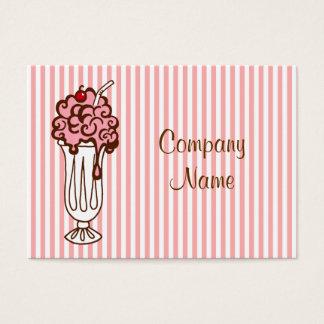 Ice Cream Soda Business Card