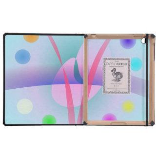 Ice Cream Soda iPad Folio Cases