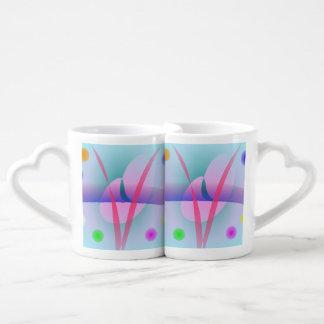 Ice Cream Soda Couples' Coffee Mug Set