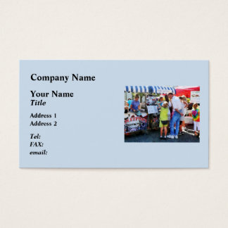 Ice Cream Stand Business Card