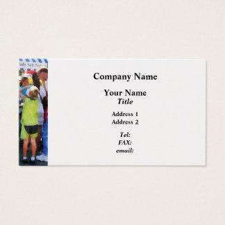 Ice Cream Stand - Platinum Business Card