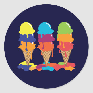 Ice Cream Sticker