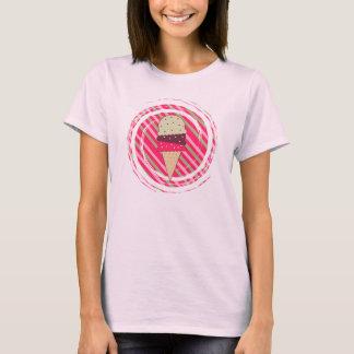 Ice Cream Strawberry Swirl T-Shirt