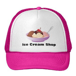 Ice Cream Sundae Bowl Trucker Hat