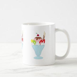 Ice Cream Sundae Classic White Coffee Mug