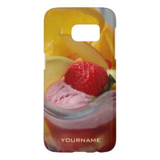 Ice Cream Sundae custom monogram cases