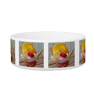 Ice Cream Sundae custom pet bowls