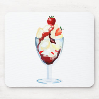 Ice Cream Sundae Mouse Pad
