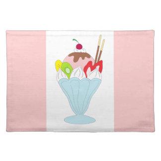 Ice Cream Sundae Placemat