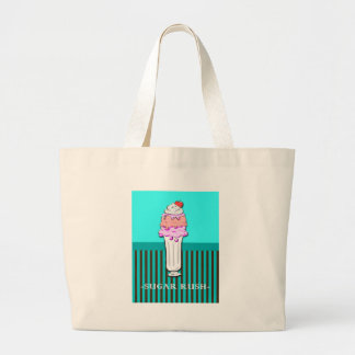 Ice Cream Sundae - Sugar Rush Jumbo Tote Bag