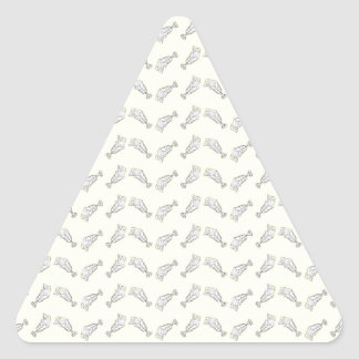 ice cream sundae triangle sticker