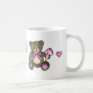 Ice Cream Teddy Classic White Coffee Mug
