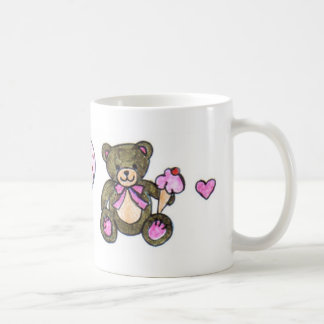 Ice Cream Teddy Coffee Mug