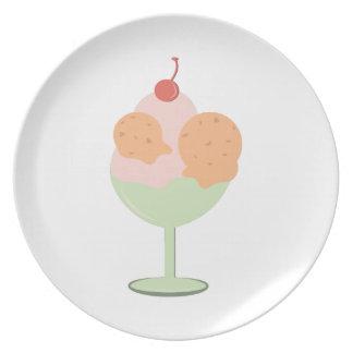 Ice Cream Treat Dinner Plates