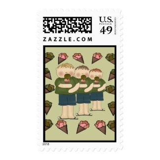Ice Cream Treats Stamp
