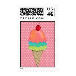 Ice Cream Treats Postage Stamps