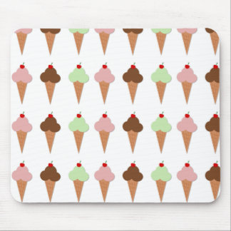 Ice Cream Trio Mouse Pad