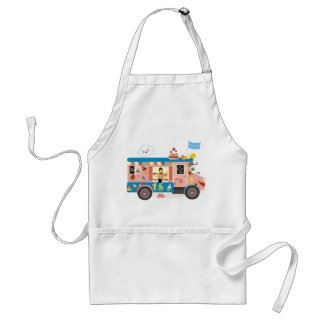 Ice Cream Truck Adult Apron