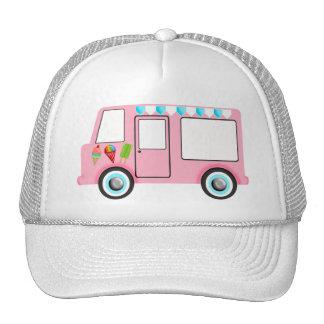Ice Cream Truck Trucker Hats