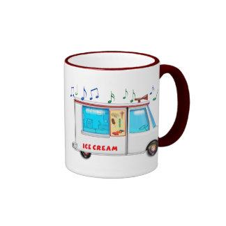 Ice Cream Truck Ringer Coffee Mug