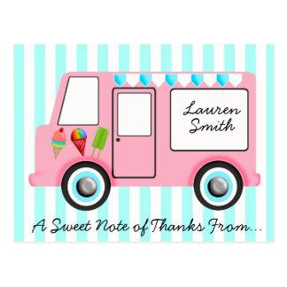 Ice Cream Truck Postcard