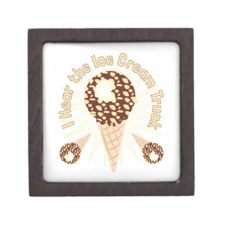 Ice Cream Truck Premium Trinket Box