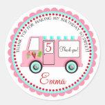 Ice cream Truck  Stickers