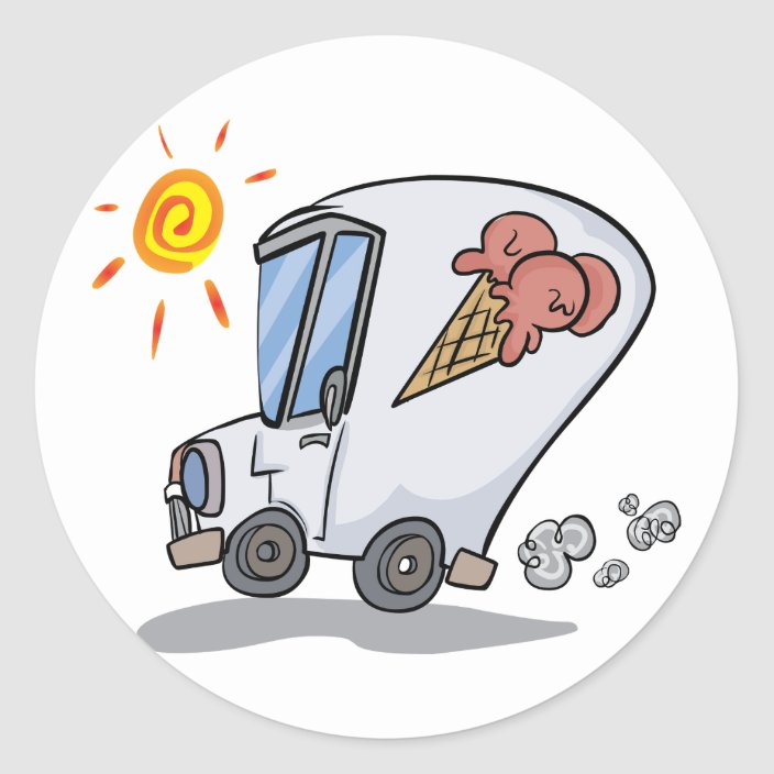 Ice Cream Stickers, Ice Cream Design Ice Cream Van Stickers Ice Cream Graphic