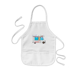 Ice Cream Truck with Music Kids' Apron