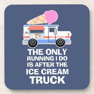 Ice Cream Truck Workout Beverage Coaster