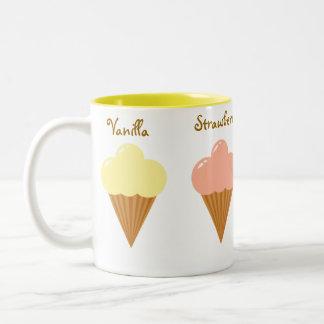Ice Cream Two-Tone Coffee Mug