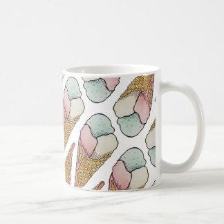 ice cream waffle cone coffee mug